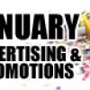 January Advertising and Promotions