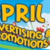 April Advertising and Promotions