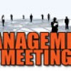 Management Meeting for August 15