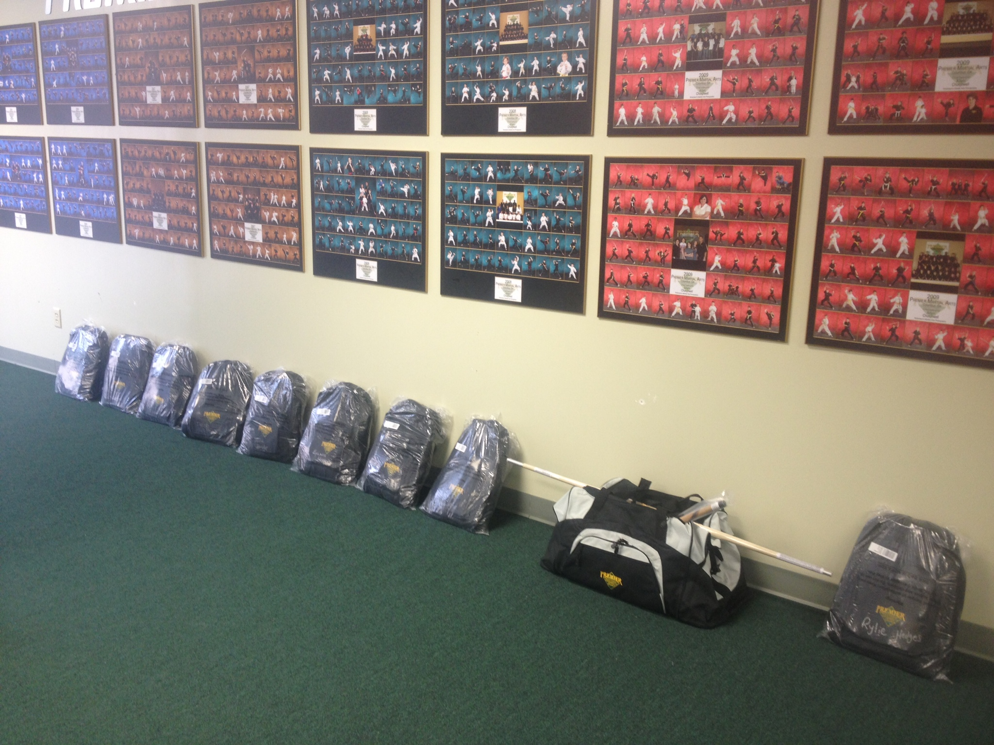 Week sign ups cash and don t forget those equipment packages