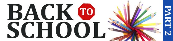 Back to School Campaign Part Two