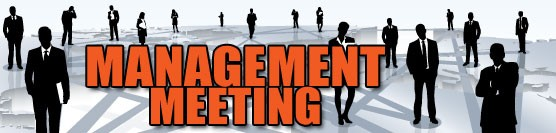 Management Meeting for October 15th